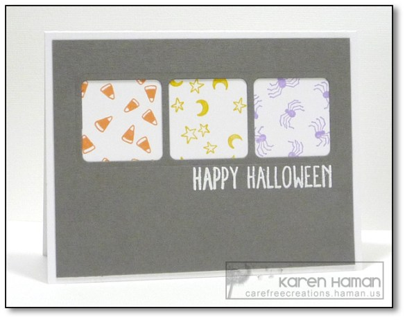 Halloween Icons Trio | by karen @ carefree creations