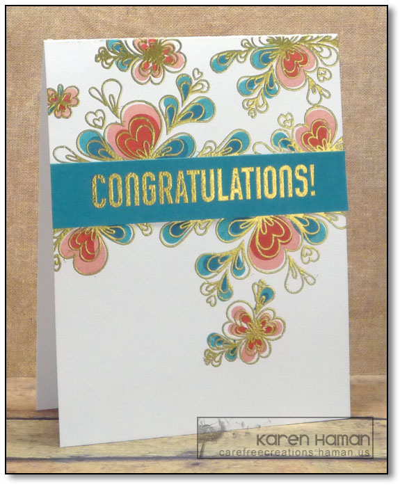 Quilled Congratulations | by karen @ carefree creations