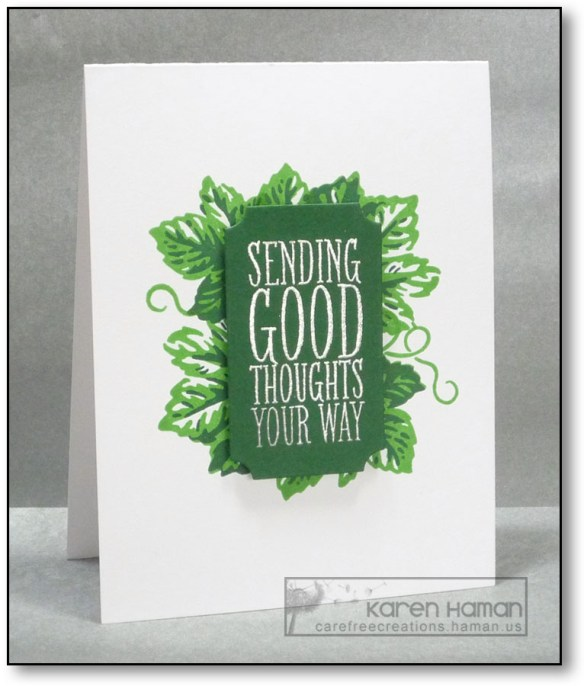 Sending Good Thoughts | by karen @ carefree creations