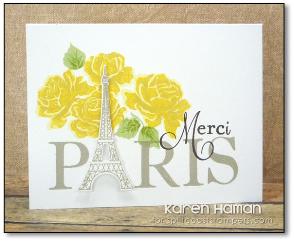 Merci | by karen @ carefree creations