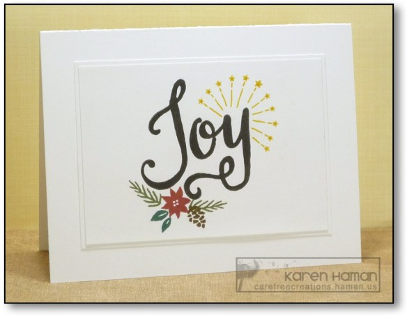 Christmas Joy | by karen @ carefree creations