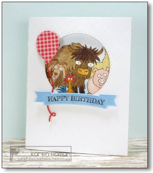 Birthday Herd | by karen @ carefree creations