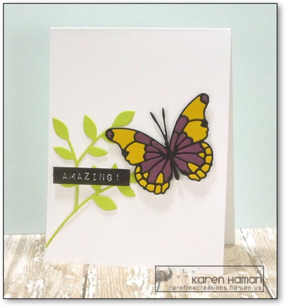 Amazing Butterfly | by karen @ carefree creations