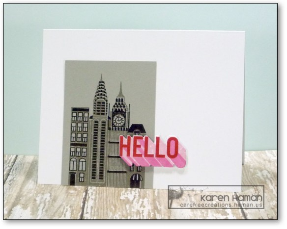 Hello From the City | by karen h @ carefree creations