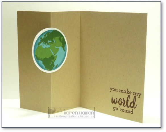 My World Spin | by karen @ carefree creations