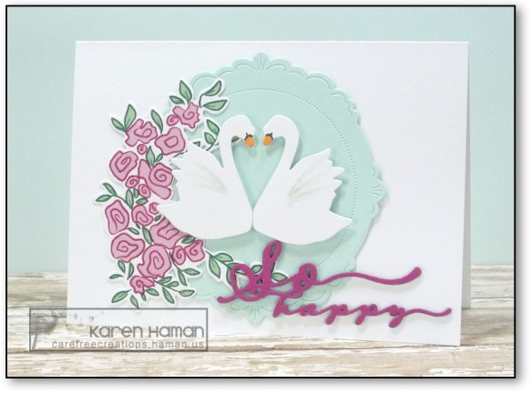 Wedding Swans | by karen @ carefree creations