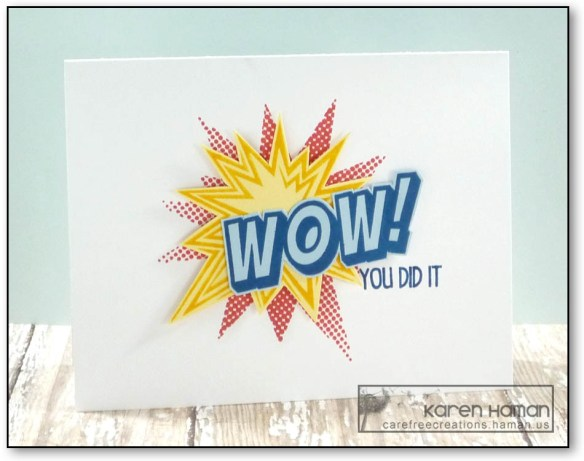 Wow! You did it! | by karen h @ carefree creations