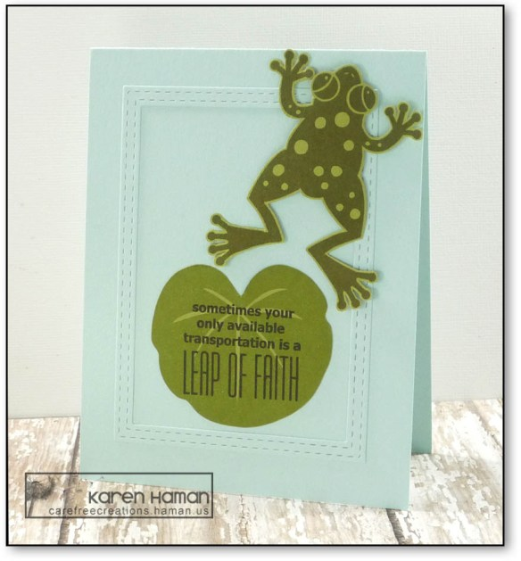 Leap of Faith   by karen h @ carefree creations