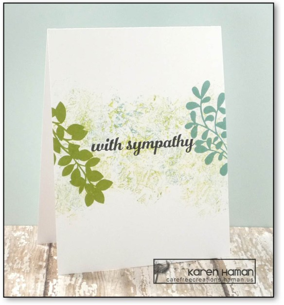 Sympathy | by karen h @ carefree creations