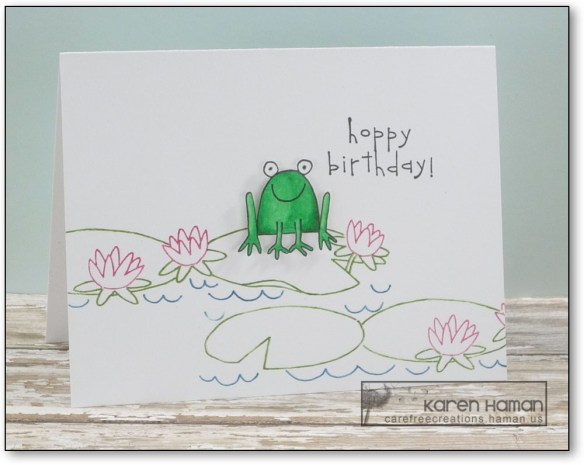 Hoppy Birthday | by karen h @ carefree creations