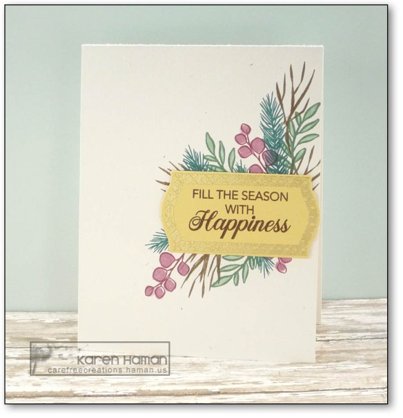 Fill the Season with Happiness | by karen h @ carefree creations