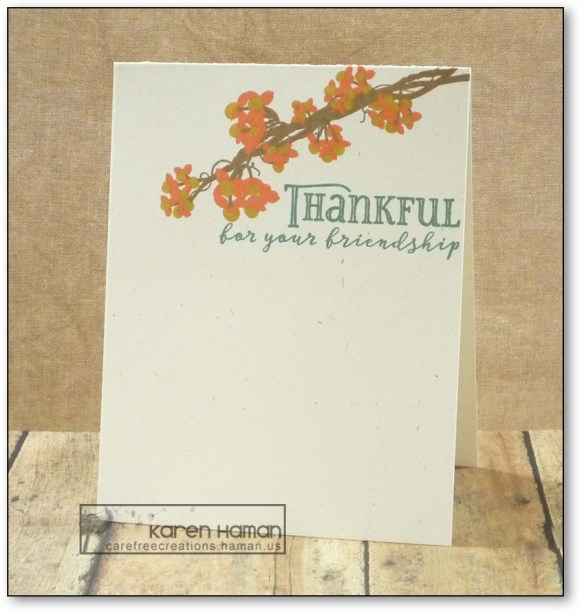 Thankful | by karen h @ carefree creations