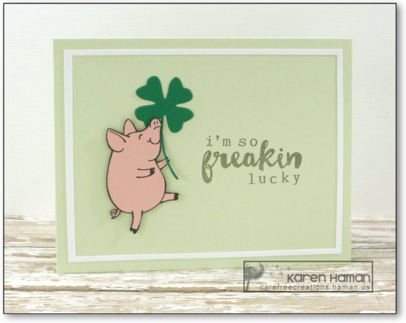 Lucky Pig | by karen h @ carefree creations