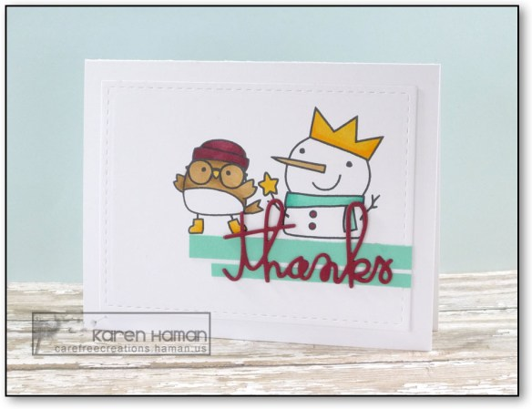 Thanks | by karen h @ carefree creations