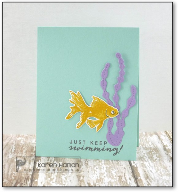 Keep Swimming | by karen h @ carefree creations