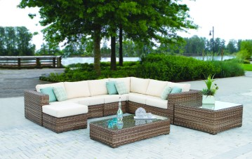 Tommy Bahama Nottingham outdoor furniture at Carefree Outdoor Living