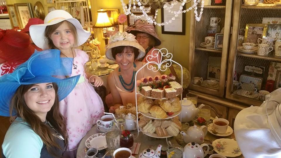Mother's Day at the Tea Room, May 12