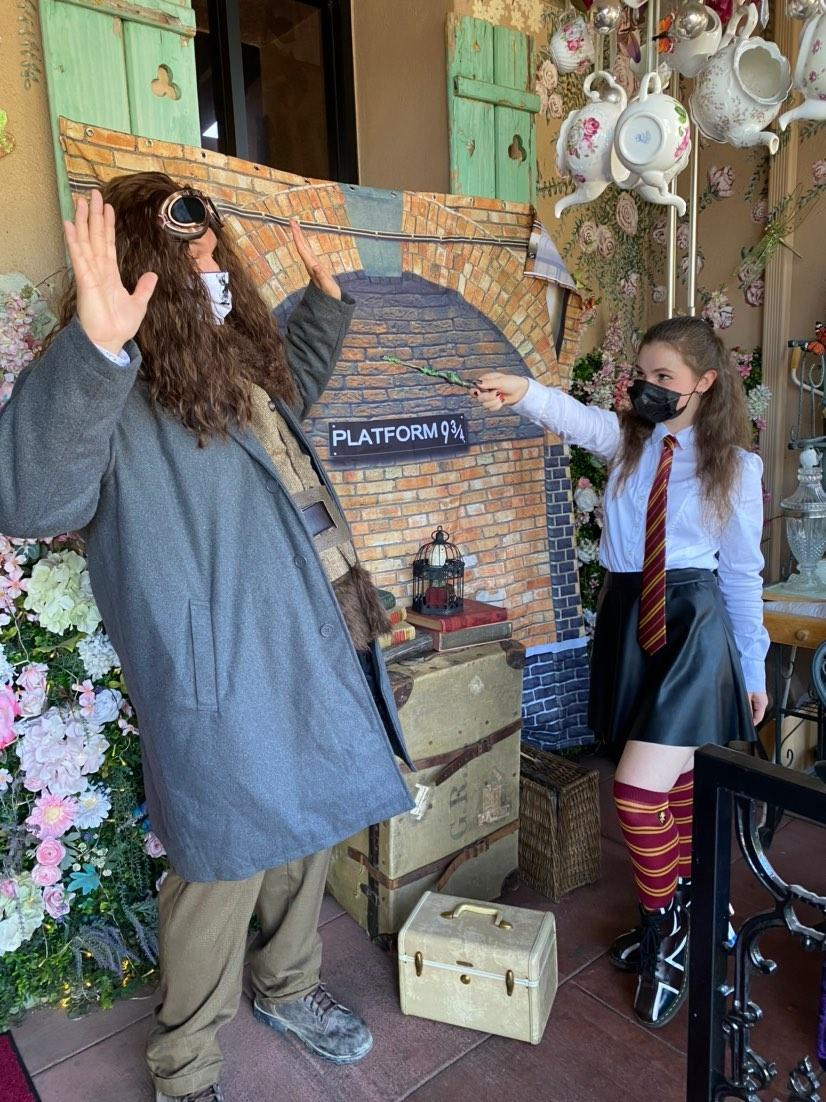 Harry Potter bday with English Rose Tea Room