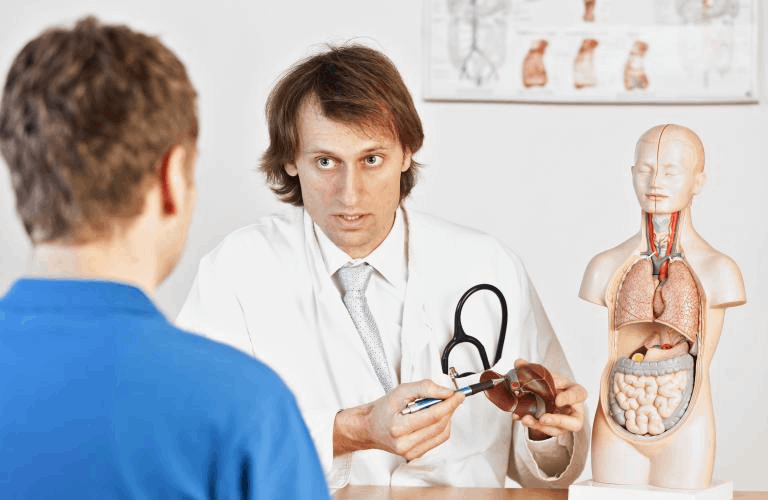 What is a hepatologist?