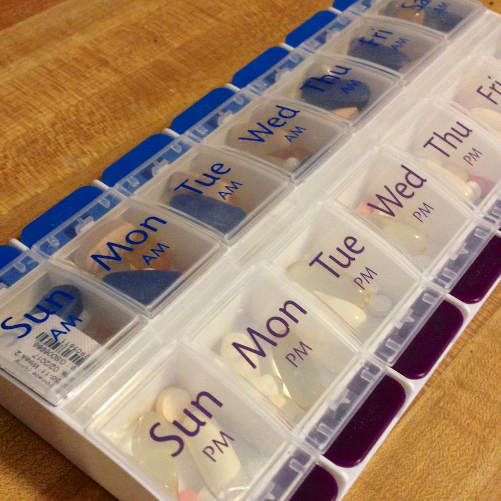 how to keep track of medications step by step care is there