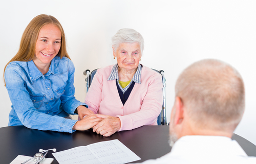 Advocacy for an Elderly Woman at a Doctor's Appointment