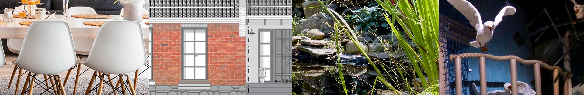 Sisustussunnittelu arkkitehtisuunnittelu puutarhasuunnittelu näyttelysuunnittelu Uusimaa Kanta-Häme Pirkanmaa Hämeenlinna