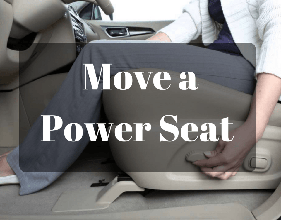 How to Manually Move a Power Seat Without Bringing It Down