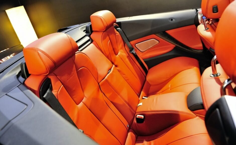 care-my-cars-Clean Your Car's Upholstery rear-seats-orange