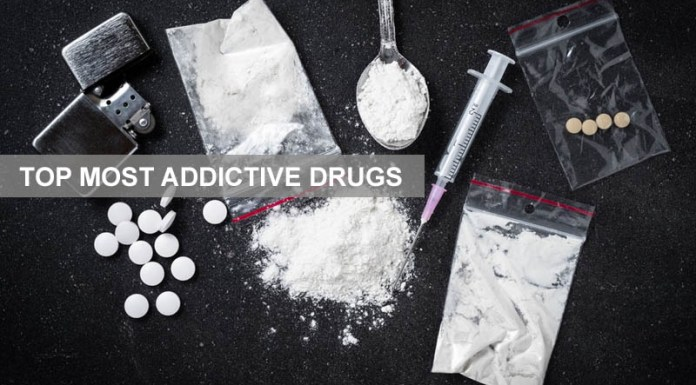 Top Most Addictive Illegal Drugs