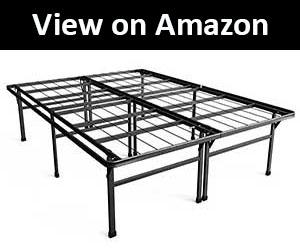 top 10 best bed frames for heavy person april 2018 carenician. Black Bedroom Furniture Sets. Home Design Ideas