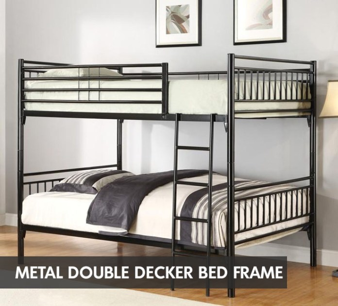 Metal Double Decker Bed Frame