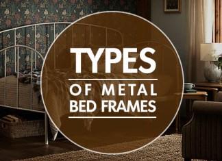 types of metal bed frames