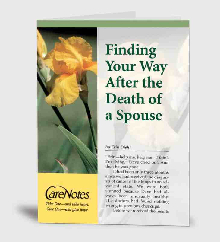 Finding Your Way After the Death of a Spouse