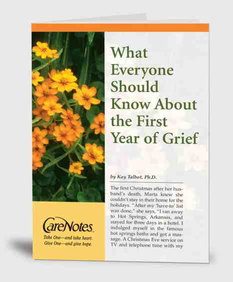 What Everyone Should Know About the First Year of Grief