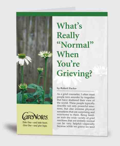 What's Really Normal When You're Grieving?