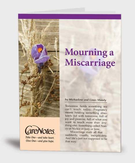 Mourning a Miscarriage