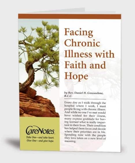 Facing Chronic Illness with Faith and Hope