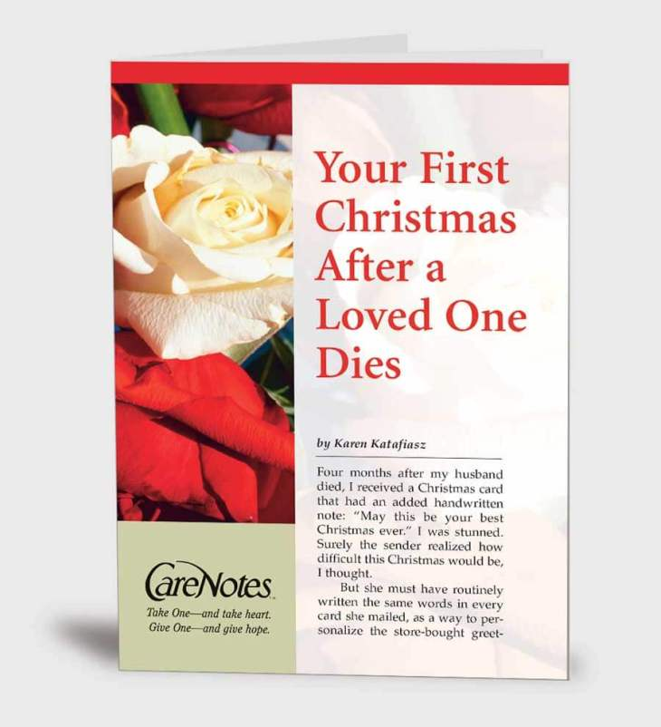 Your First Christmas After a Loved One Dies