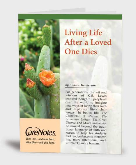 Living Life After a Loved One Dies