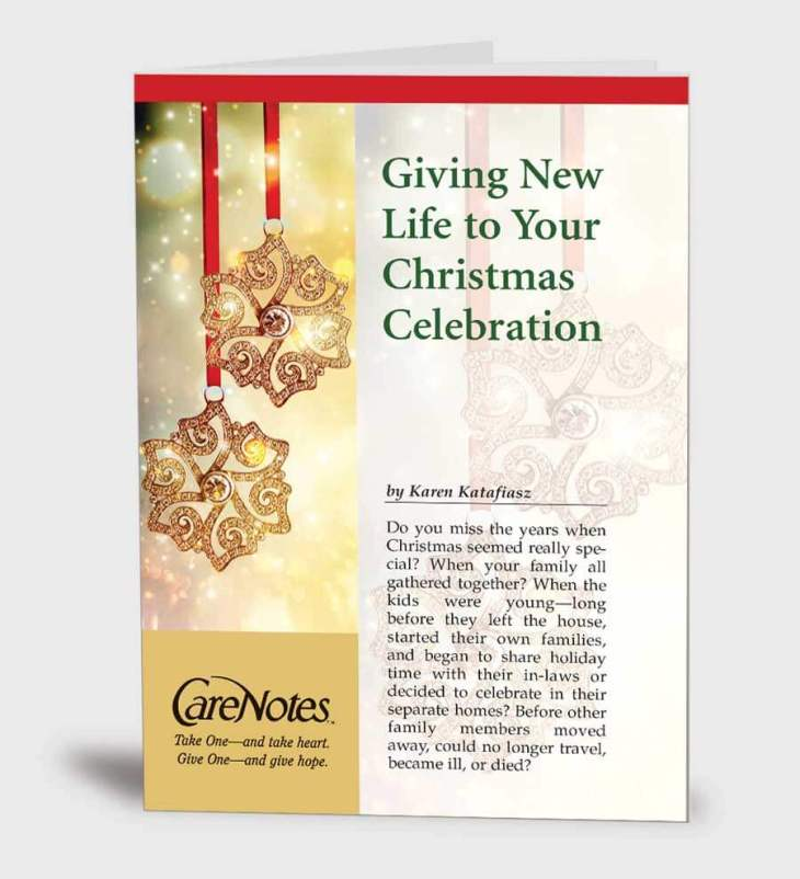 Giving New Life to Your Christmas Celebration