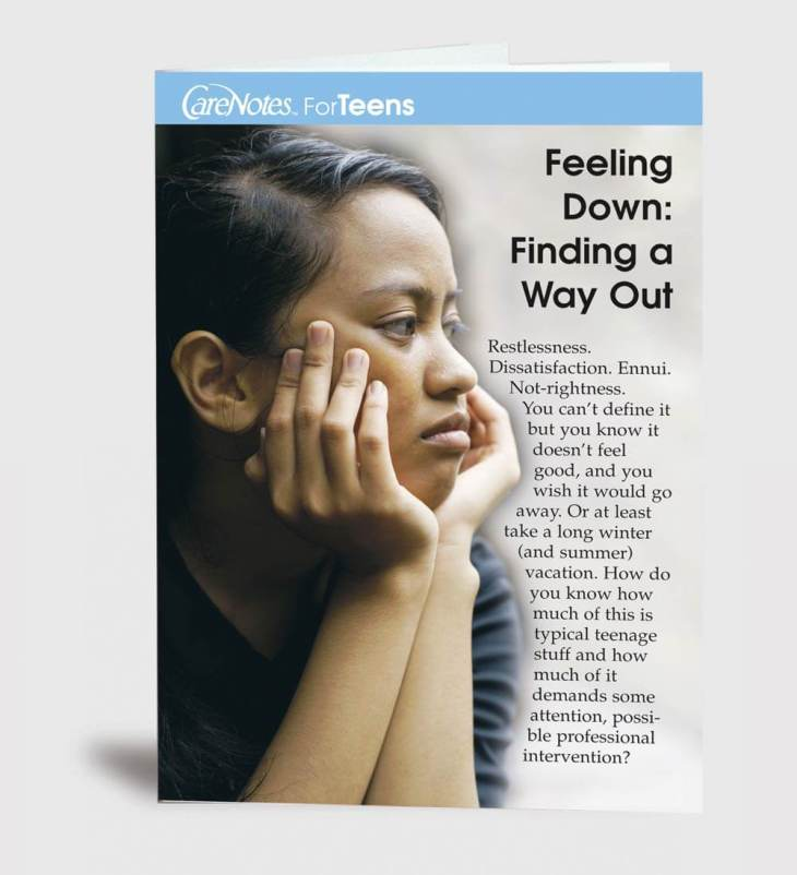 Feeling Down: Finding a Way Out