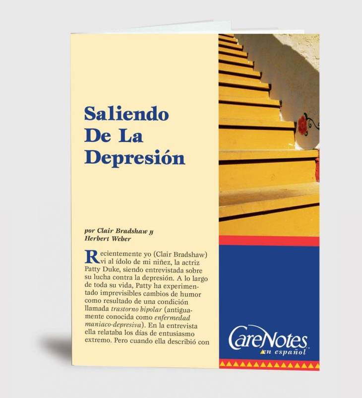 Climbing Up From Depression Spanish Version