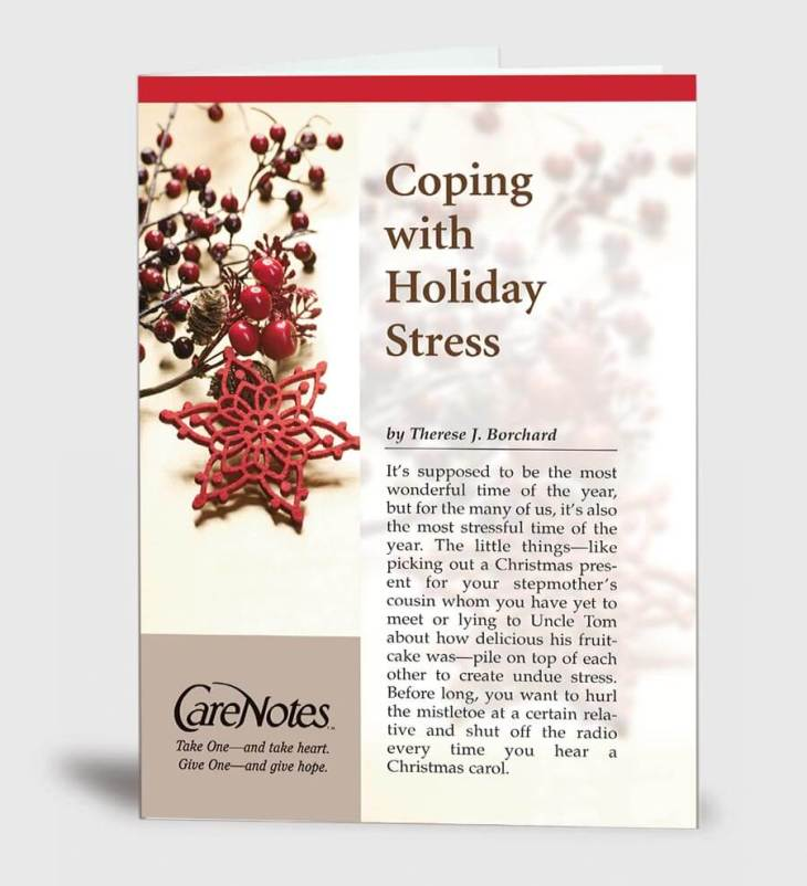 Coping With Holiday Stress