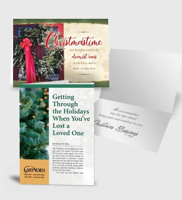 At Christmastime… Carecard/CareNotes Set