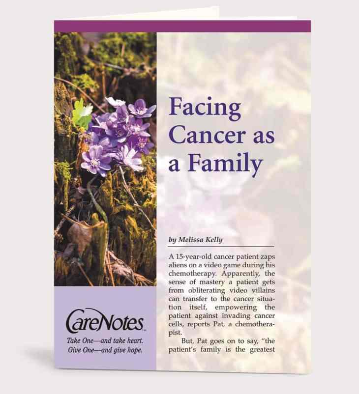 Facing Cancer as a Family