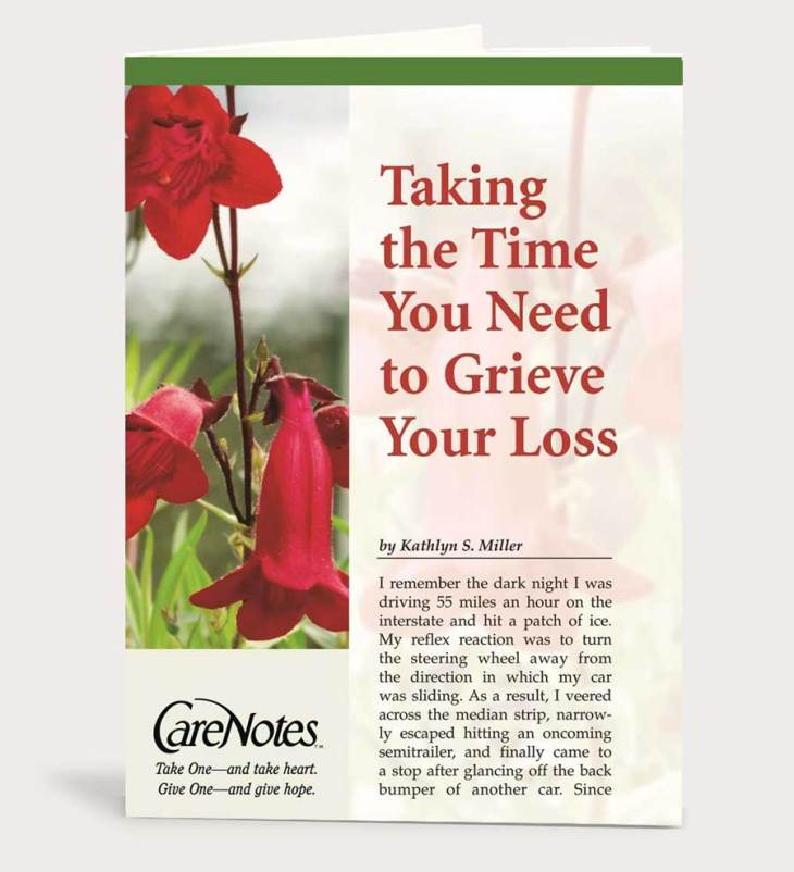Taking the Time You Need to Grieve Your Loss