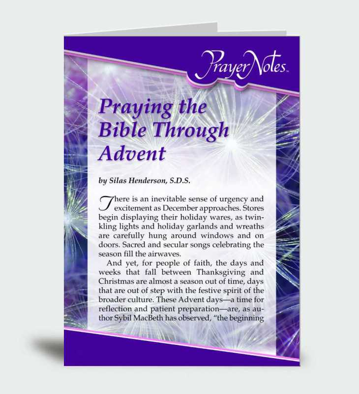 Praying the Bible Through Advent