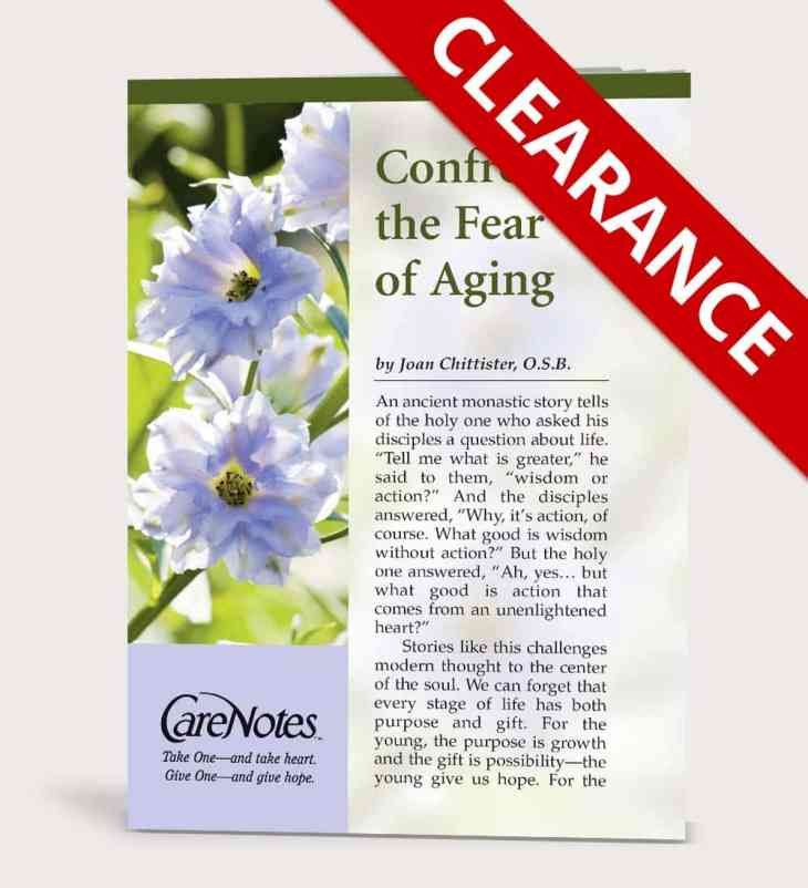 Confronting the Fear of Aging