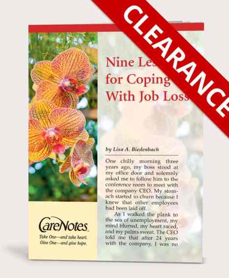 Nine Lessons for Coping With Job Loss