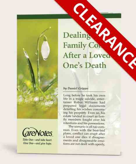 Dealing With Family Conflict After a Loved One's Death